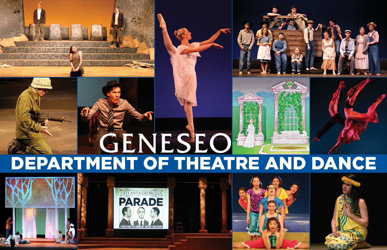 BROCHURE - SUNY Geneseo Theatre and Dance