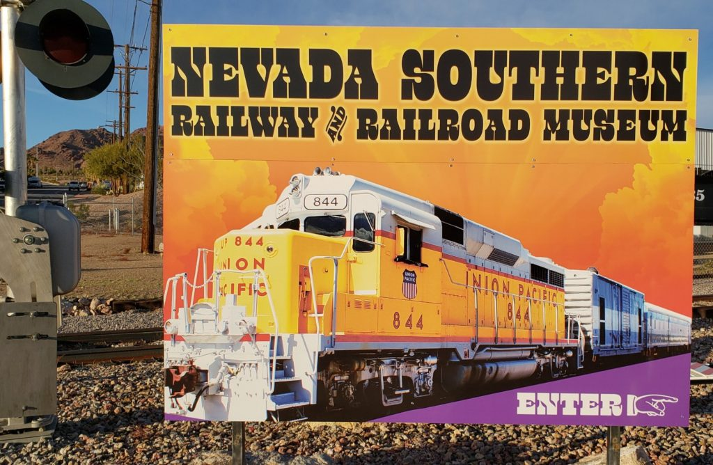 SIGNAGE - NEVADA SOUTHERN RAILROAD MUSEUM
